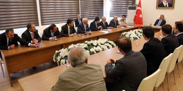 Seçim güvenliği ve seçim önlemleri toplantısı yapıldı