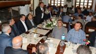 Ak Parti heyeti 84 köy muhtarı ile biraraya geldi