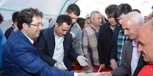 Aksaray Belediyesi'nden 3 bin kişiye aşure ikramı