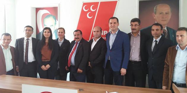 Aksaray Dernekleri'nden MHP'ye tam destek