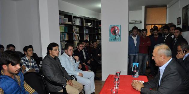 Aksaray Ülkü Ocakları eğitim seminerleri devam ediyor