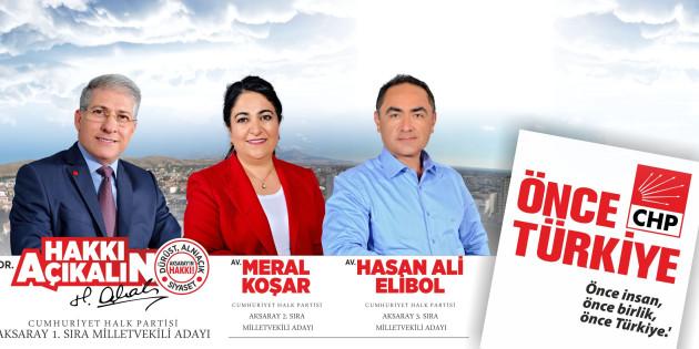 CHP Milletvekili adayları: Terörü biz bitireceğiz!
