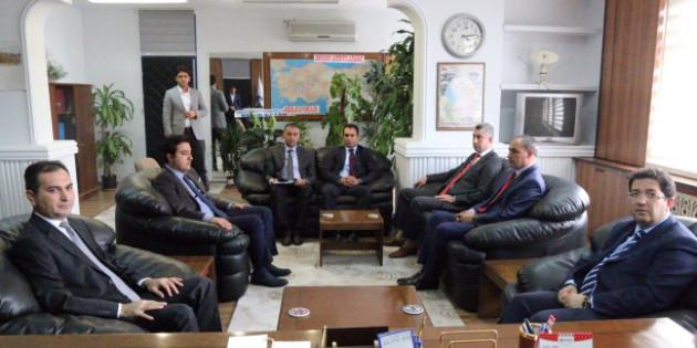 Başkan Yazgı'dan Defterdar Uğur Arslan'a ziyaret