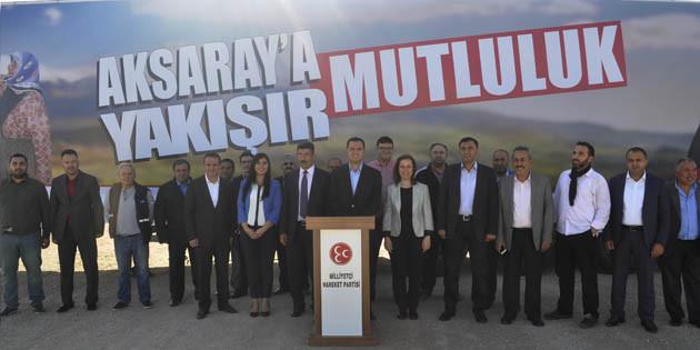 MHP'nin 'Hizmet Tırı' Organize Sanayi'de