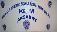 Aksaray'da tarihi eser operasyonu!