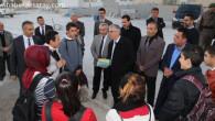 Vali Ataklı Sarıyahşi köylerini ziyaret etti