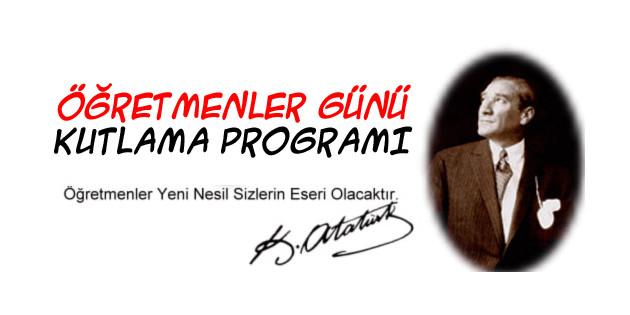 Aksaray'da Öğretmenler Günü Kutlama Programı
