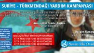 Aksaray Ülkü Ocakları'ndan Türkmenler'e yardım