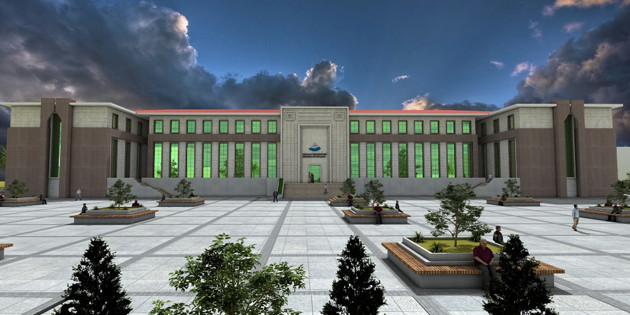 ASÜ kütüphane inşaat çalışmaları 2016'da başlıyor