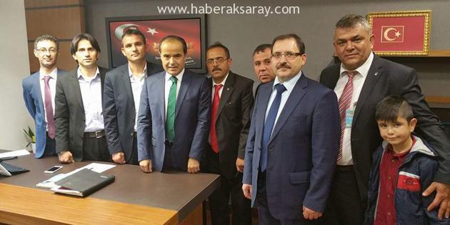 AK Parti İlçe Başkanları TBMM'yi ziyaret etti