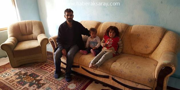 Aksaray'da Suriyeli aile yaşam mücadelesi veriyor