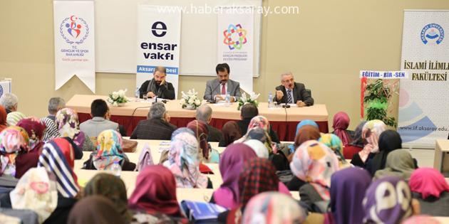 ASÜ'de Vakıflar konulu panel gerçekleştirildi