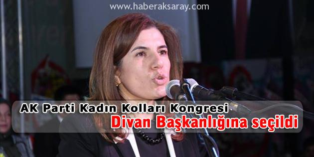 AK Parti Divan Başkanlığına İlknur İnceöz seçildi