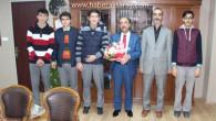 Anadolu İmam Hatip Lisesi'nden Milli Eğitim'e ziyaret