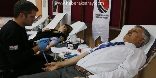 ASÜ'de kan bağışı kampanyası