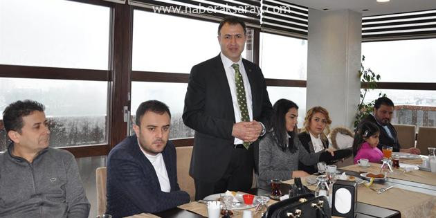 Aksaray Barosu Stajyer Avukatlarla kahvaltıda buluştu