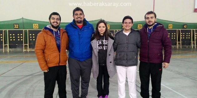 Milli Takıma ASÜ'den 5 sporcu seçildi
