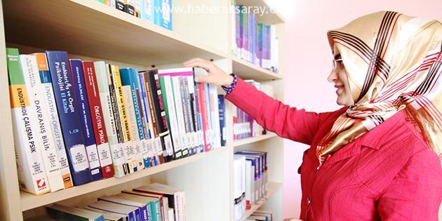 ASÜ Kütüphanesi kullanıcı sayısı 25 bini aştı