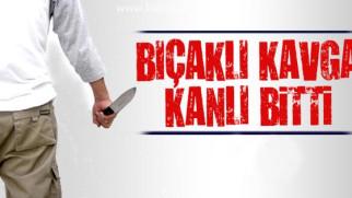 Aksaray'da bıçaklı kavga!