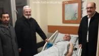 Ulu Cami'nin sevilen imamına geçmiş olsun ziyareti