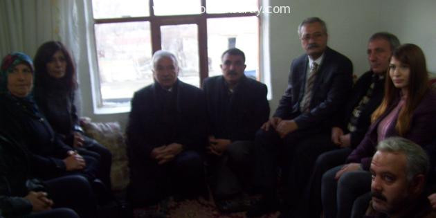 CHP İl Başkanı Toprak ikinci Gazi'yi de ziyaret etti
