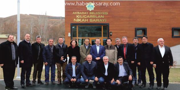 Aksaray'ın ve Türkiye'nin meselelerini değerlendirdiler