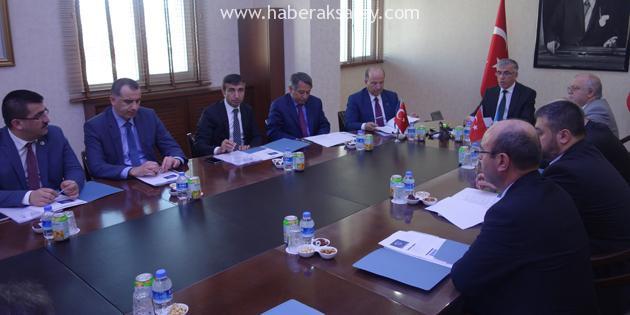 AHİKA Yönetim Kurulu Toplantısı Kırıkkale'de yapıldı