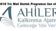 AHİKA 2016 Yılı Mali Destek Programını ilan etti
