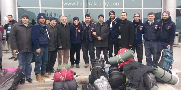 AKÇED izci liderleri Azerbeycan'a gidiyor