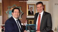 Mercedes-Benz Direktörü Lehmann'dan Yazgı'ya ziyaret