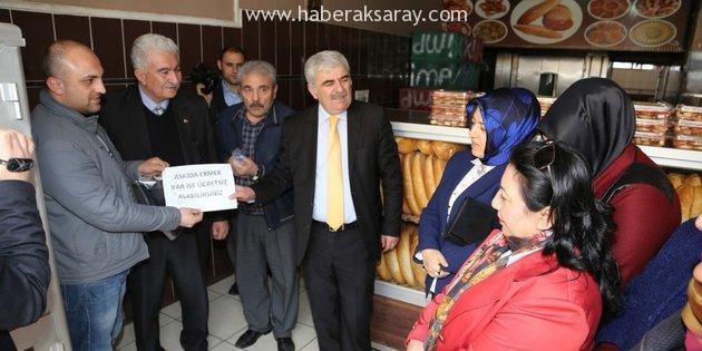 'Askıda Ekmek' kampanyasına fırıncılardan tam destek