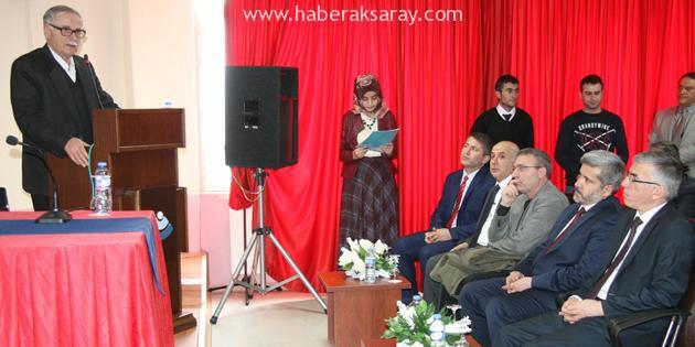 Aksaraylı Vezir-i Azamı Piri Mehmed Paşa konferansta anlatıldı