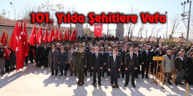 Aksaray'da 18 Mart Şehitleri Anma töreni yapıldı