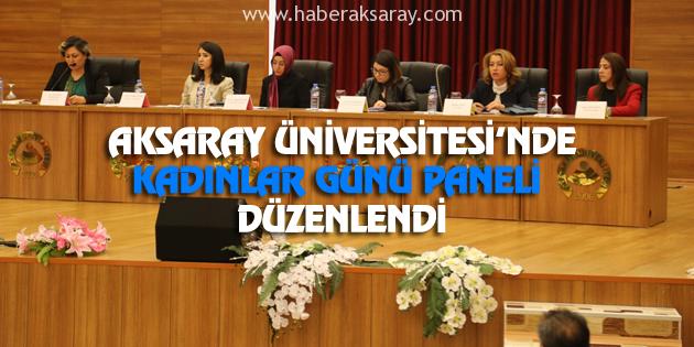 ASÜ'de Kadınlar Günü Paneli düzenlendi