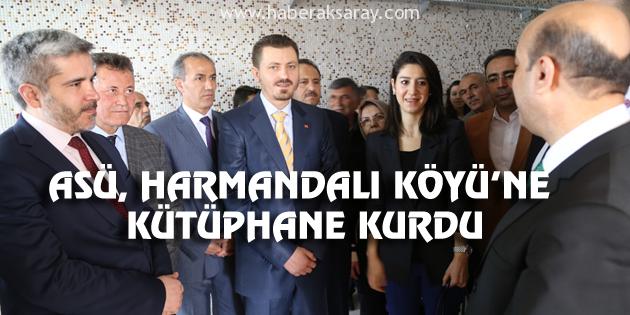 ASÜ, Harmandalı Köyü'ne kütüphane kurdu