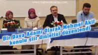 Mehmet Akif misali değerlere ihtiyacımız var