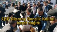 CHP Aksaray Gençlik Kolları hoşaf dağıttı