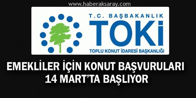Aksaray'da TOKİ başvuruları 14 Mart'ta başlıyor