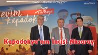 """""""Kapadokya'nın İncisi Aksaray"""" tanıtım toplantısı büyüledi"""