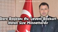 Baro Başkanı Bozkurt'tan 18 Mart mesajı