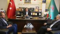Rektör Şahin'den Ziraat Odası ve KOSGEB'e işbirliği ziyareti