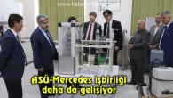 ASÜ-Mercedes işbirliği daha da gelişiyor