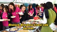 Atatürk Anadolu Lisesi'nde kermes