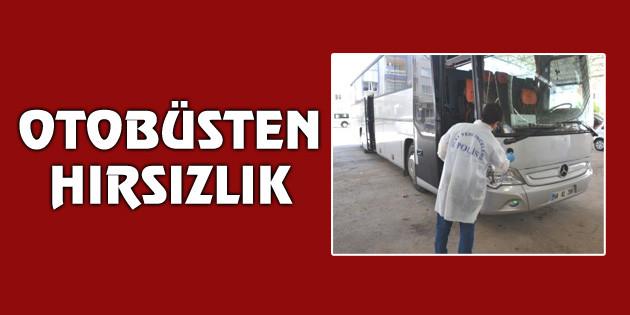 Aksaray'da otobüsten hırsızlık