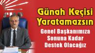 CHP İl Başkanı Toprak: Günah Keçisi Yaratamazsın