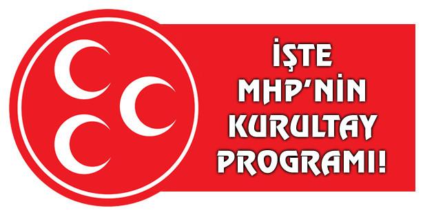 MHP'nin kurultay programı açıklandı