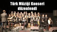 Türk Müziği Konseri düzenlendi