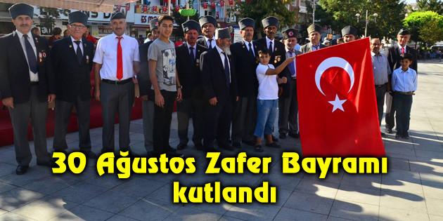Aksaray'da 30 Ağustos Zafer Bayramı kutlandı