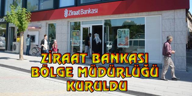 Aksaray'a Ziraat Bankası Bölge Müdürlüğü kuruldu