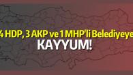 İçişleri Bakanlığı 28 belediyeye kayyum atadı